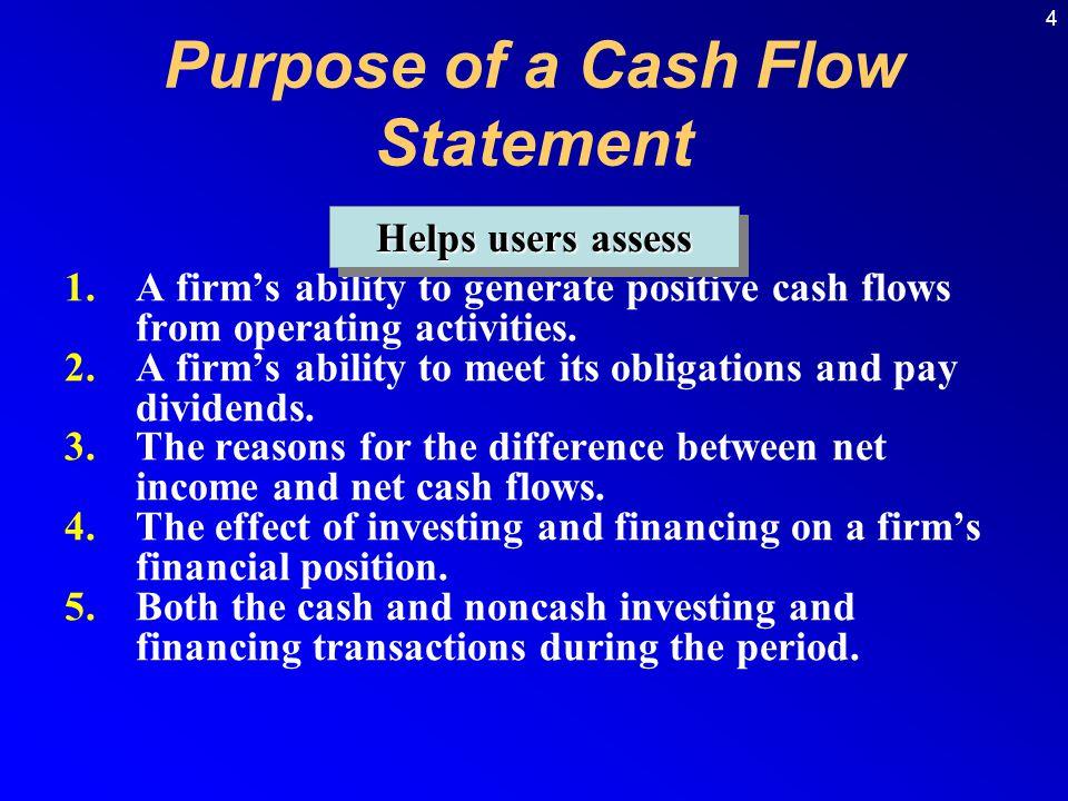 Purpose of a Cash Flow Statement