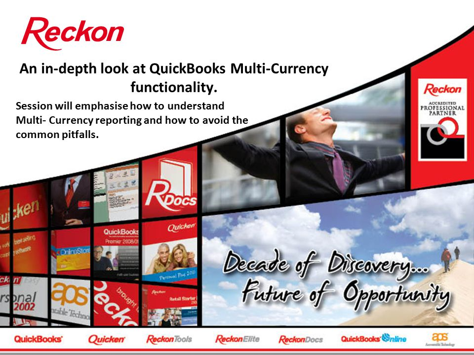 An in-depth look at QuickBooks Multi-Currency functionality.