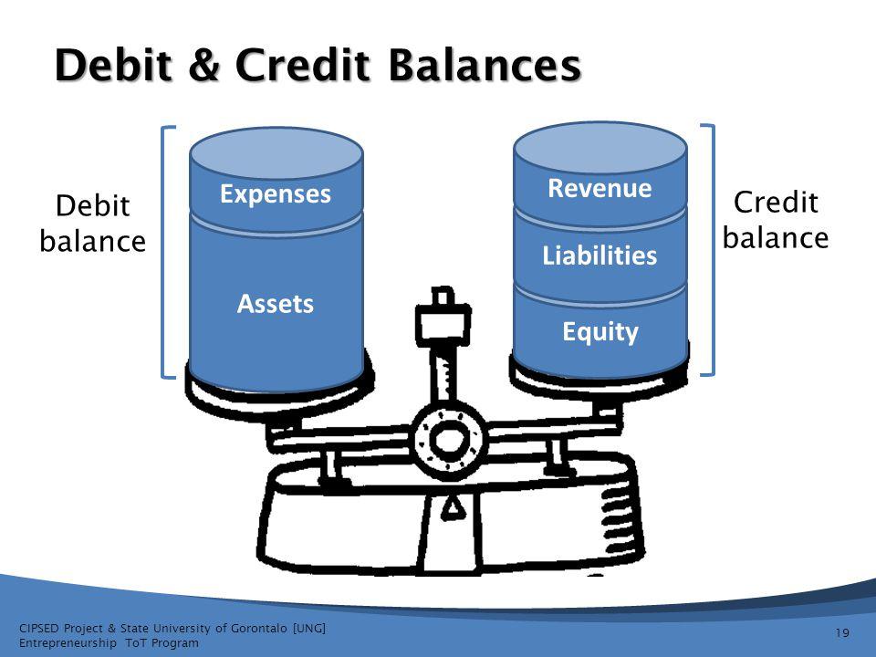 Debit & Credit Balances