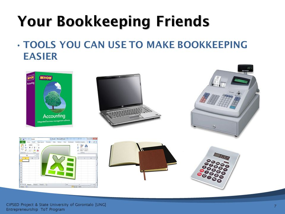 Your Bookkeeping Friends