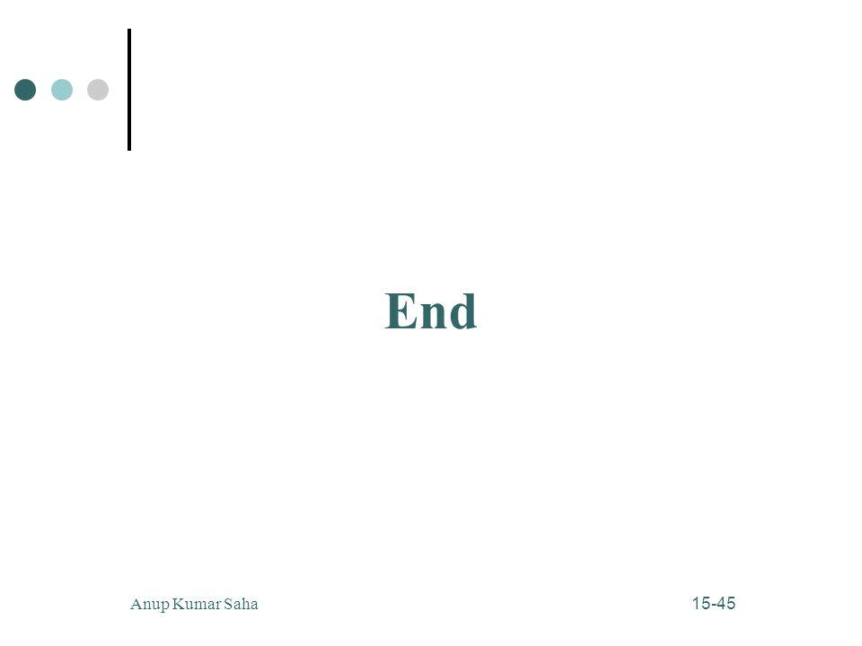 End Anup Kumar Saha
