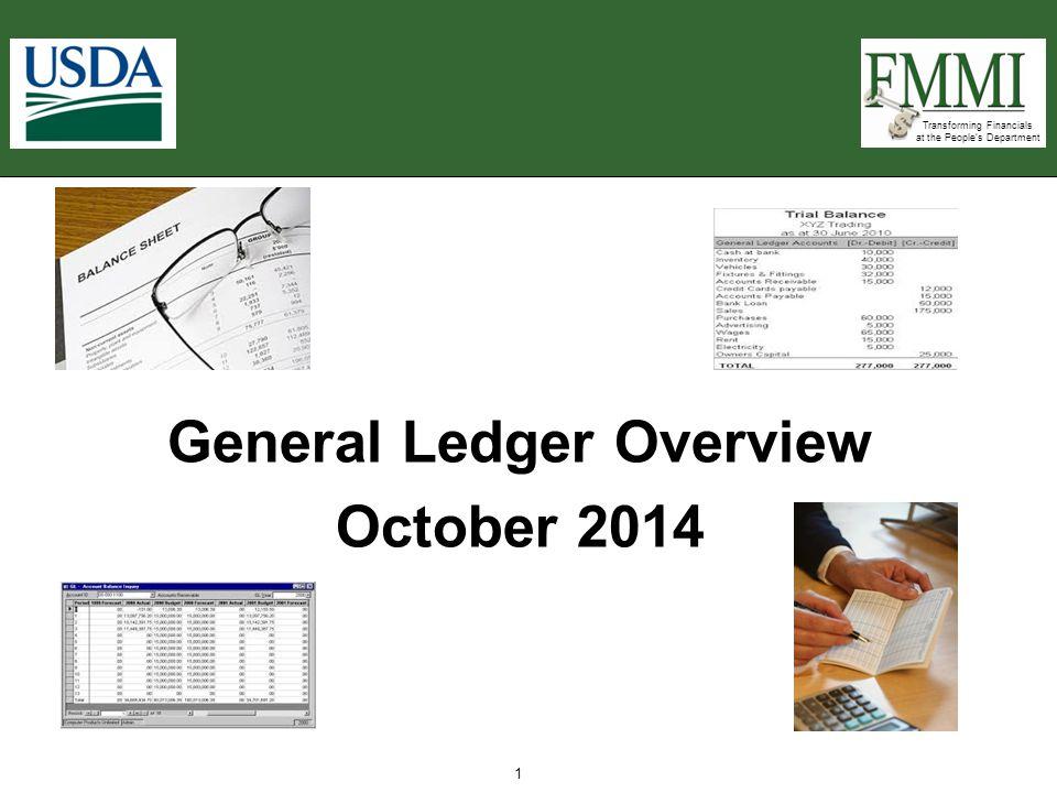 General Ledger Overview October 2014
