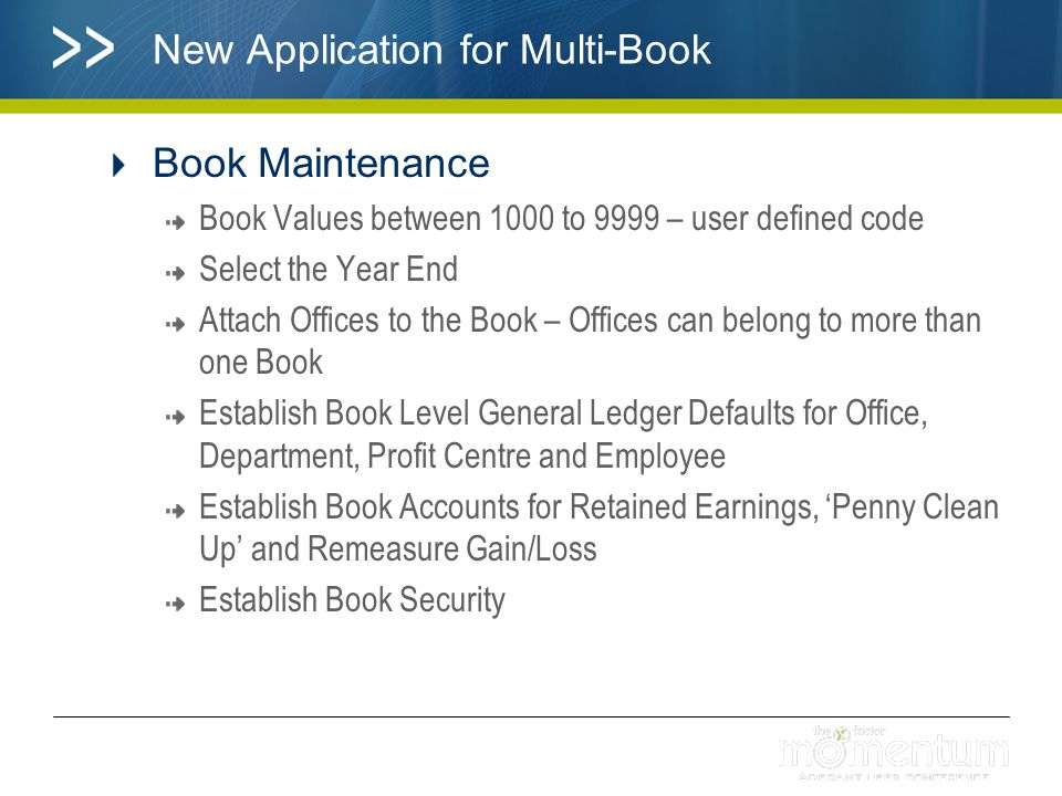 New Application for Multi-Book