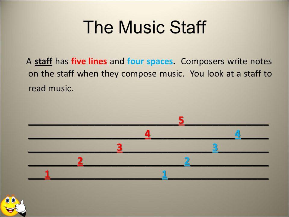 The Music Staff