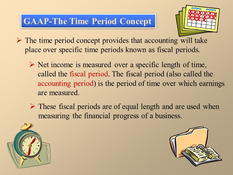 GAAP-The Time Period Concept