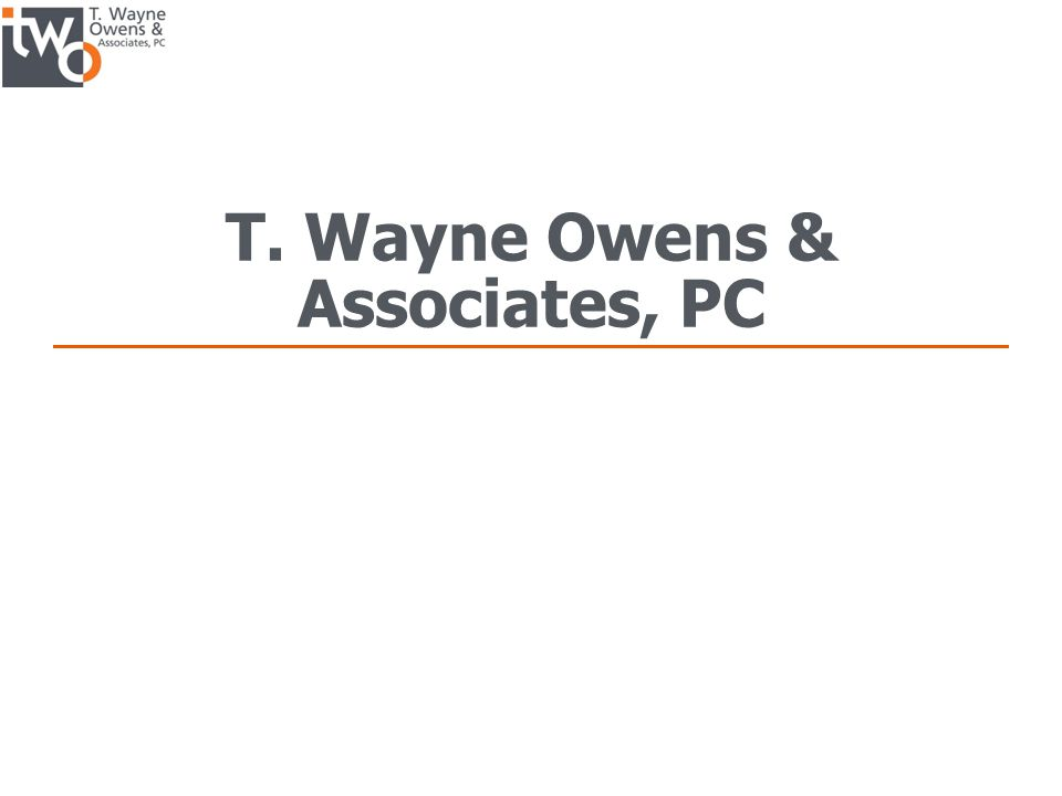 T. Wayne Owens & Associates, PC