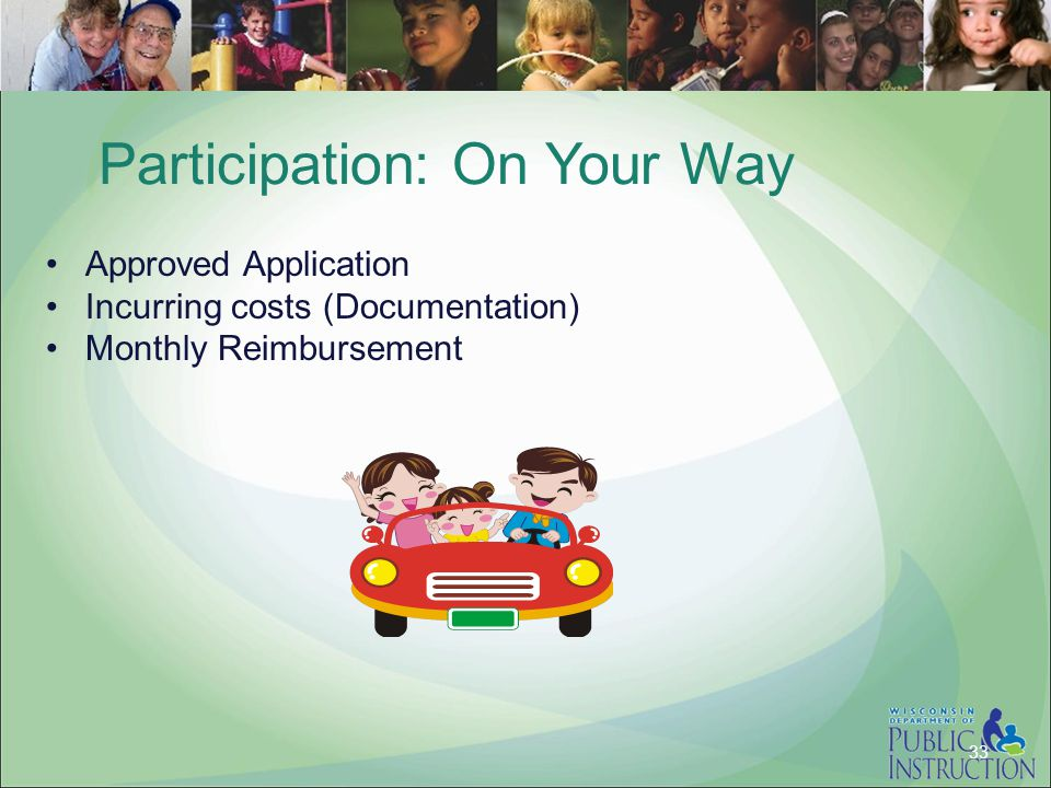 Participation: On Your Way
