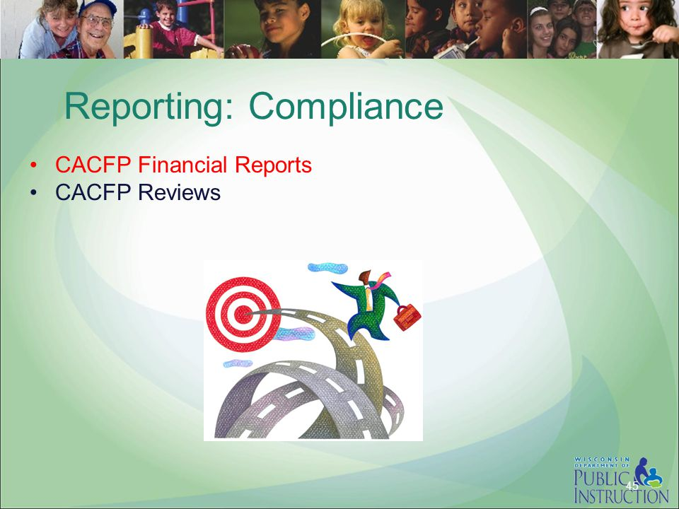 Reporting: Compliance