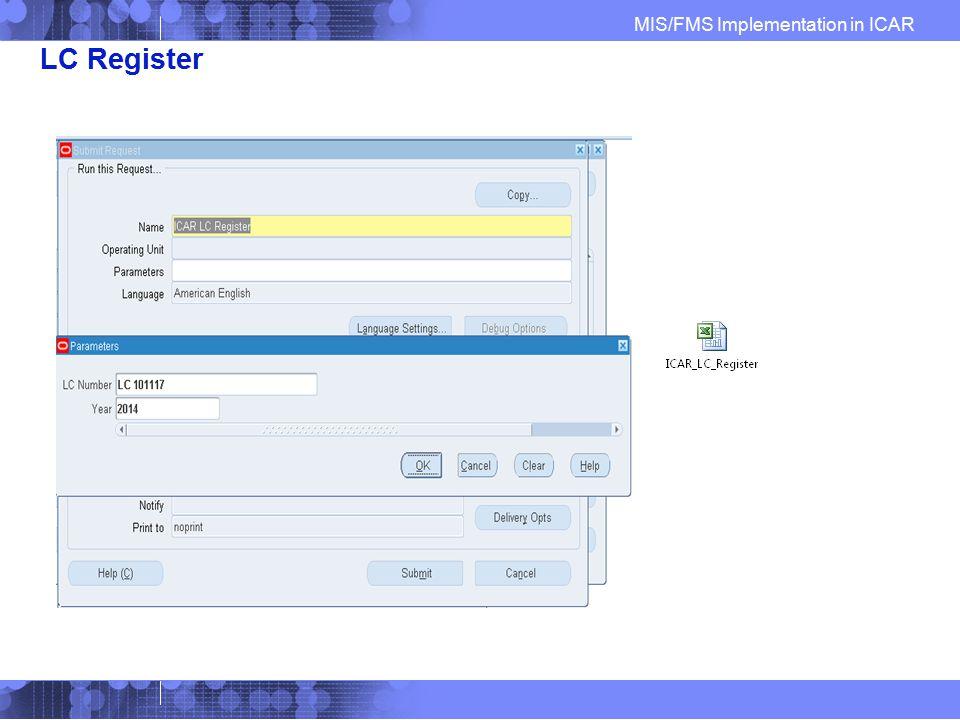 LC Register