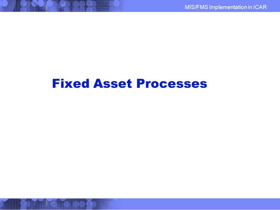 Fixed Asset Processes IBM Confidential