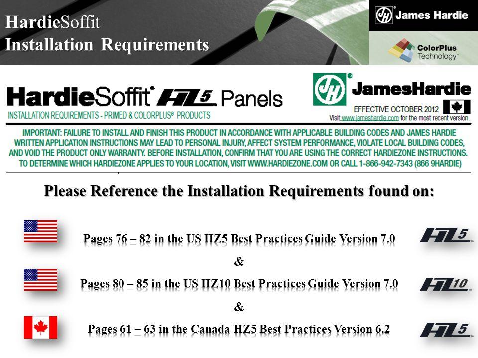 Installation Requirements