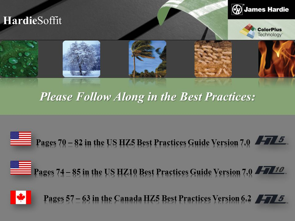 Please Follow Along in the Best Practices: