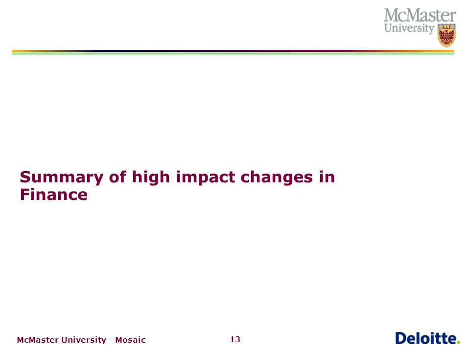 Accounts Payable: detailed summary of high impact changes