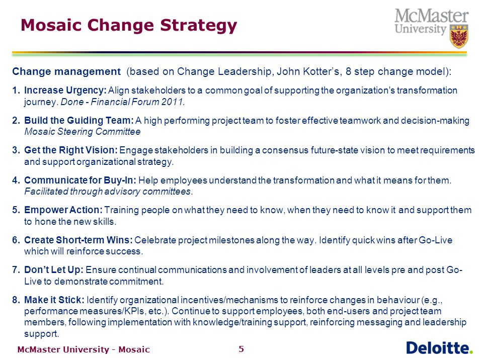 Mosaic Engagement Curve