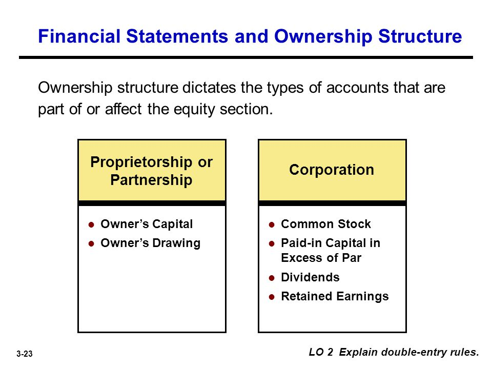 Financial Statements and Ownership Structure