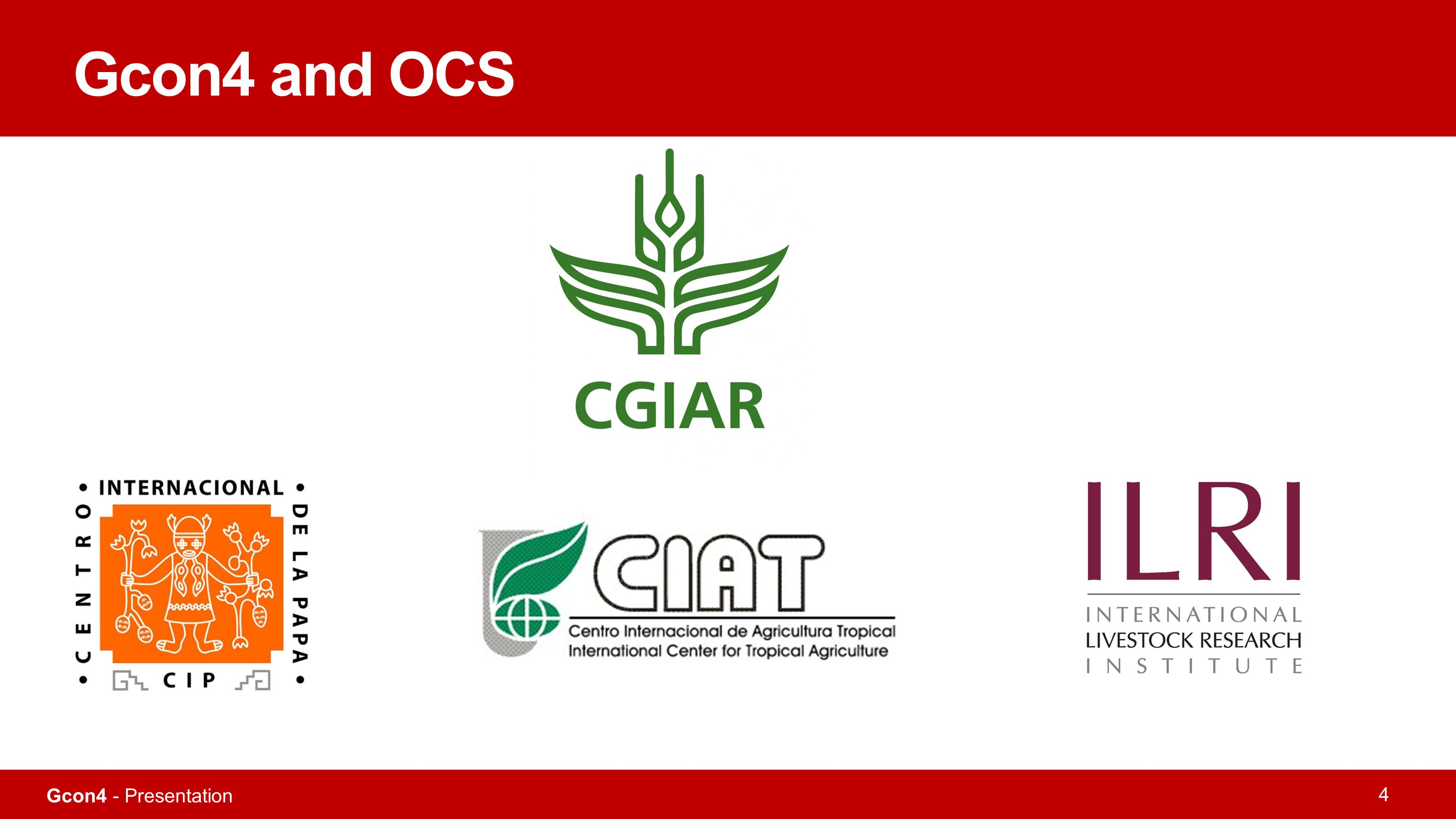 Gcon4 and OCS