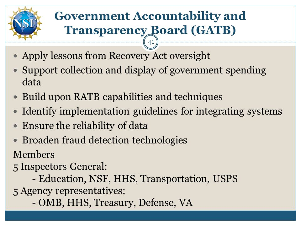 Government Accountability and Transparency Board (GATB)