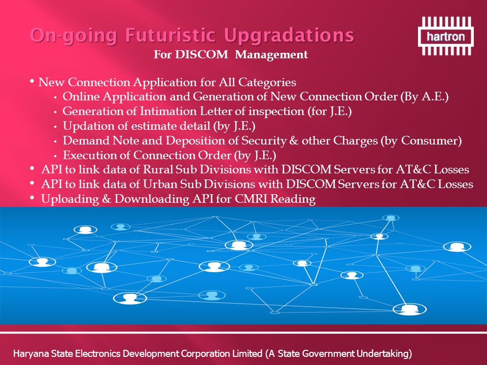 On-going Futuristic Upgradations
