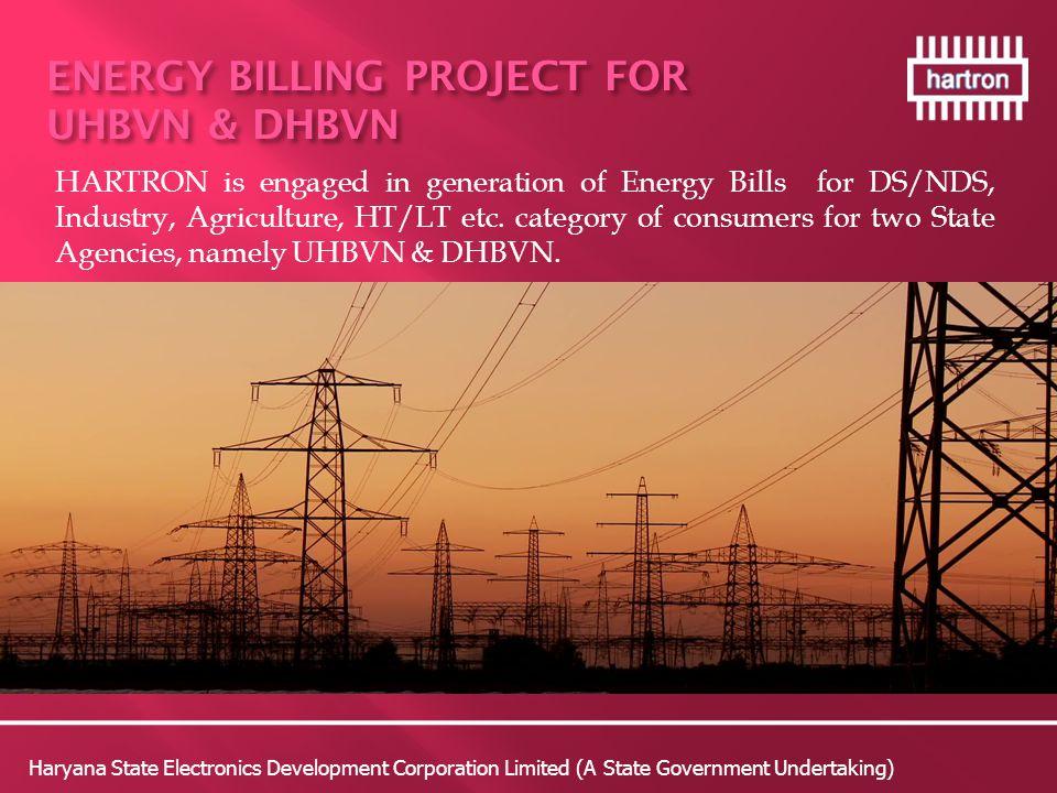 ENERGY BILLING PROJECT FOR UHBVN & DHBVN