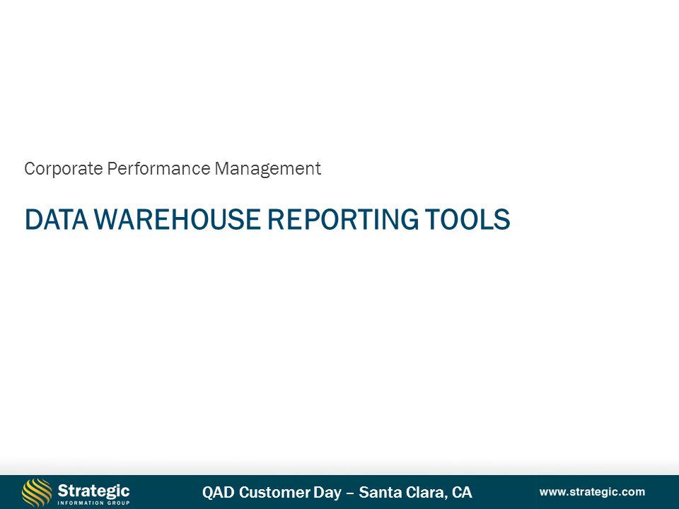 Data Warehouse Reporting Tools