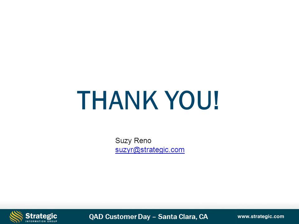 Thank you! Suzy Reno suzyr@strategic.com