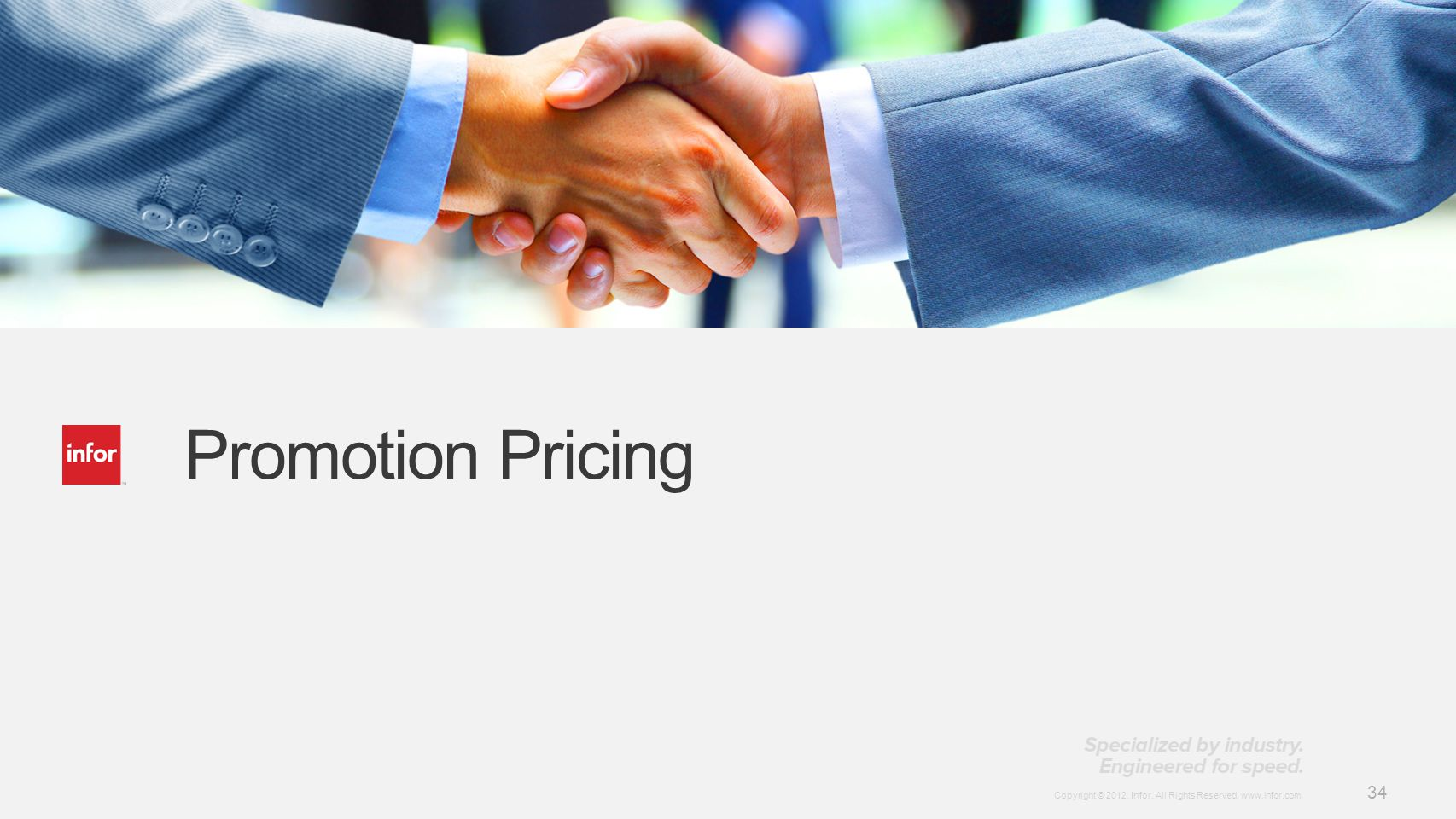 Promotion Pricing