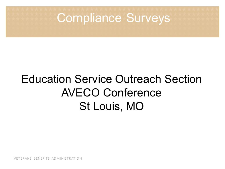Education Service Outreach Section