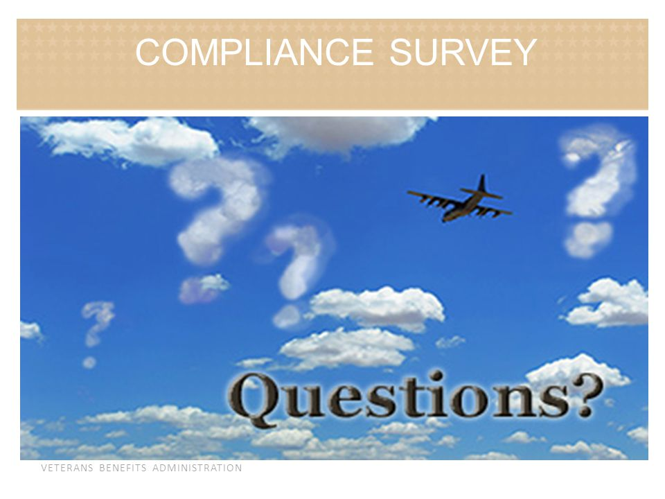 COMPLIANCE SURVEY