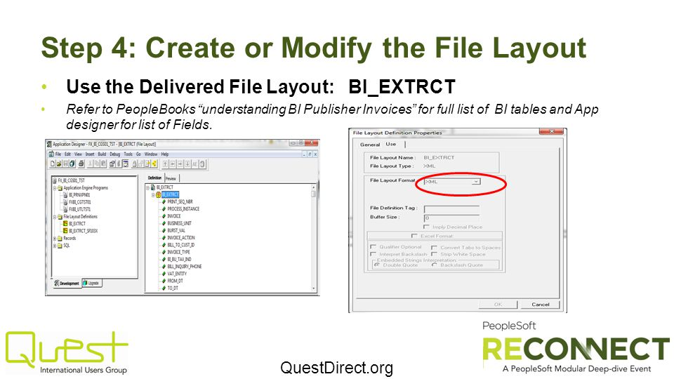 Step 4: Create or Modify the File Layout