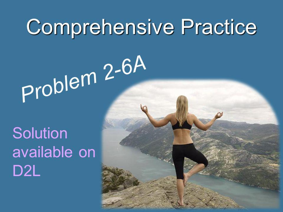 Comprehensive Practice