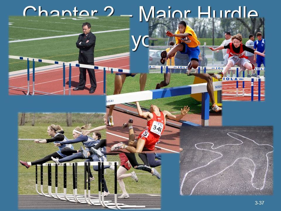 Chapter 2 – Major Hurdle How are you doing