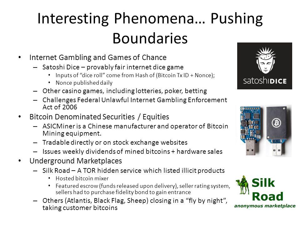 Interesting Phenomena… Pushing Boundaries