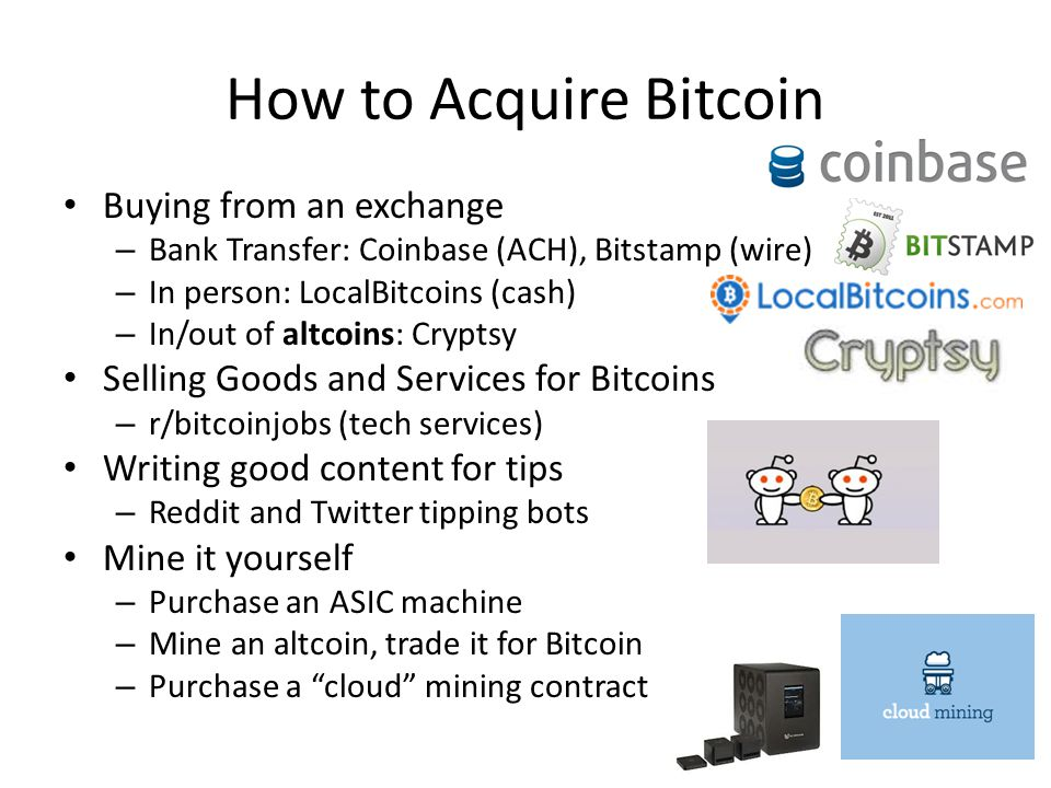 How to Acquire Bitcoin Buying from an exchange