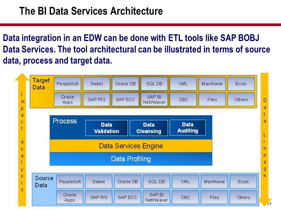 The BI Data Services Architecture
