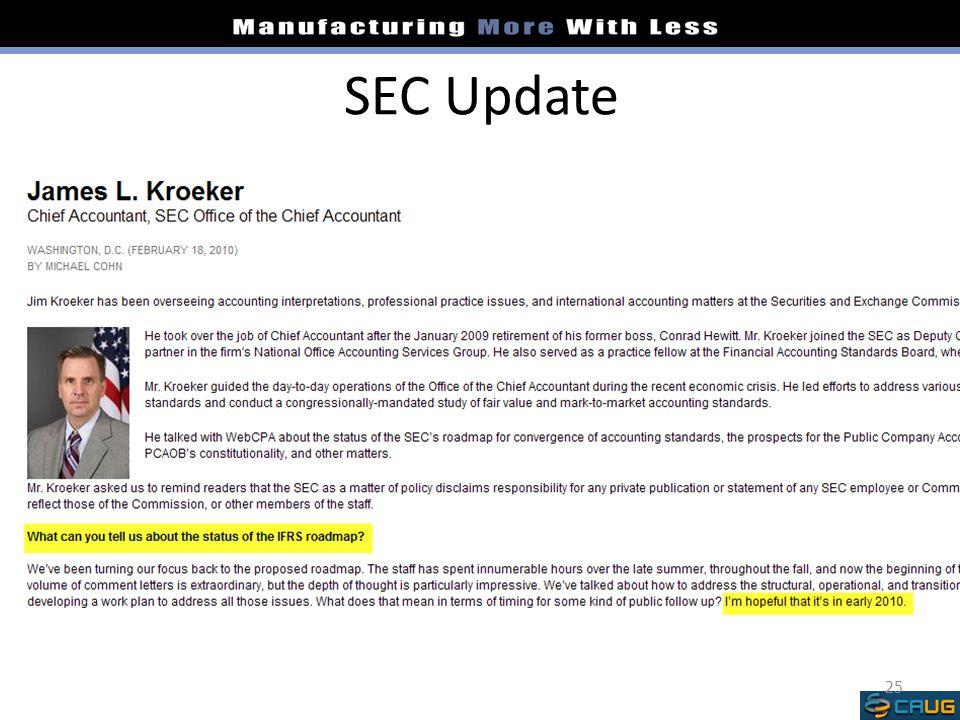 SEC Update