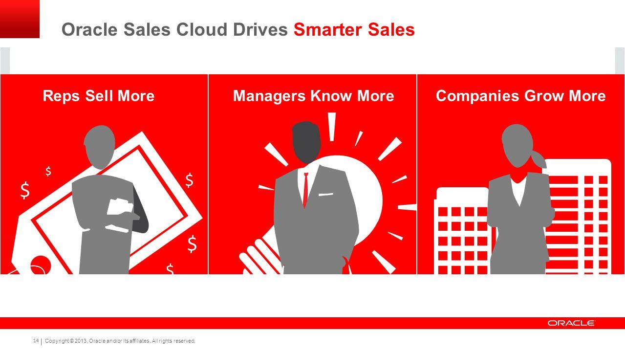Oracle Sales Cloud Drives Smarter Sales