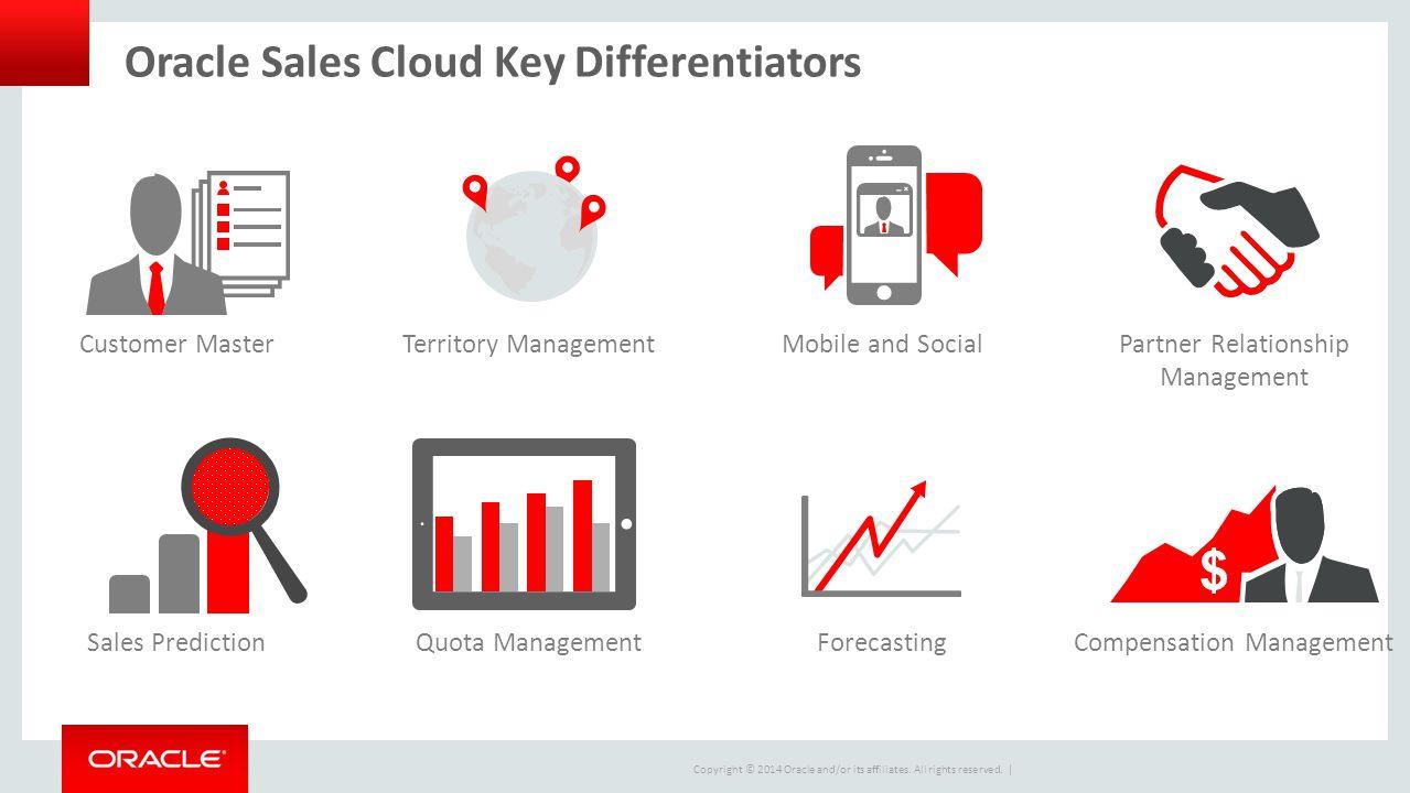 Oracle Sales Cloud Key Differentiators