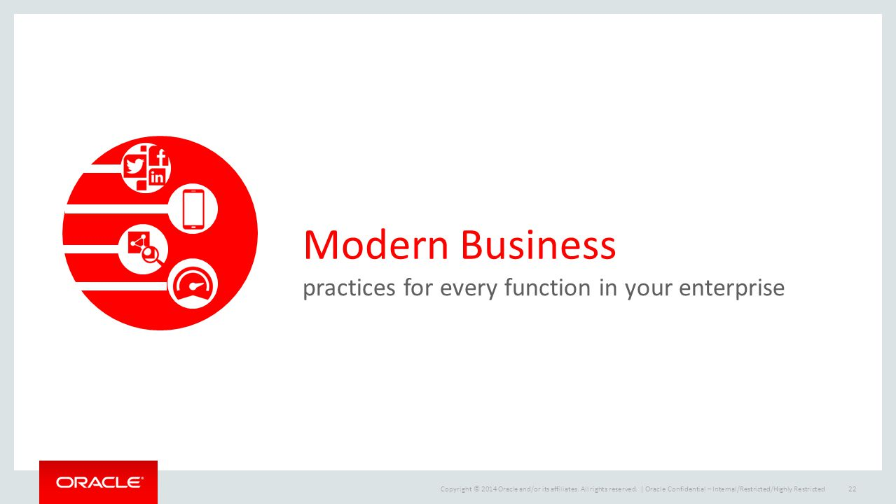 Modern Business practices for every function in your enterprise