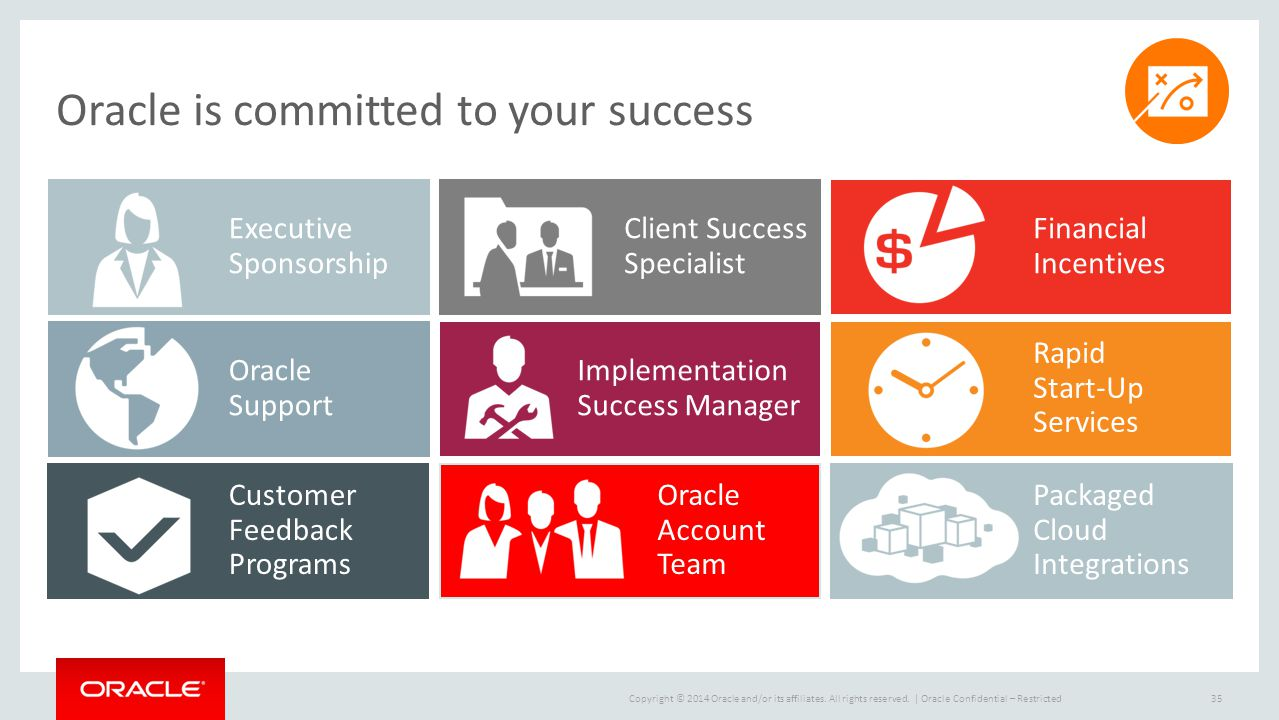 Oracle is committed to your success