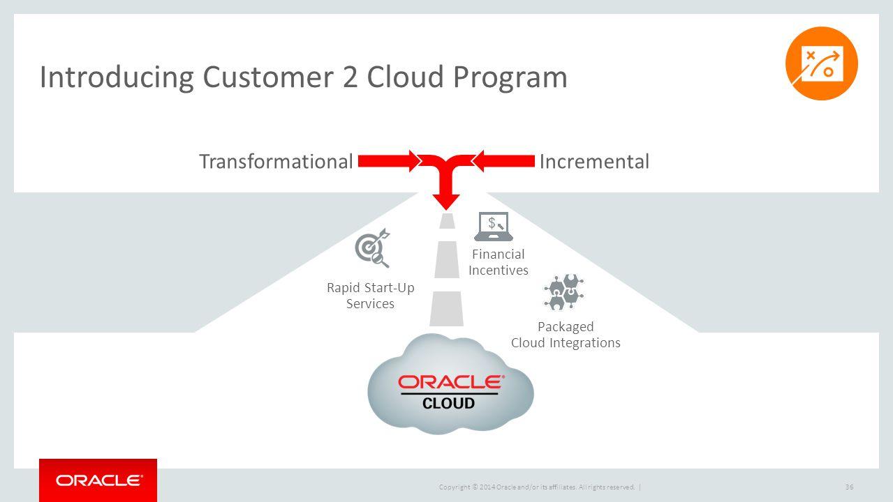 Introducing Customer 2 Cloud Program