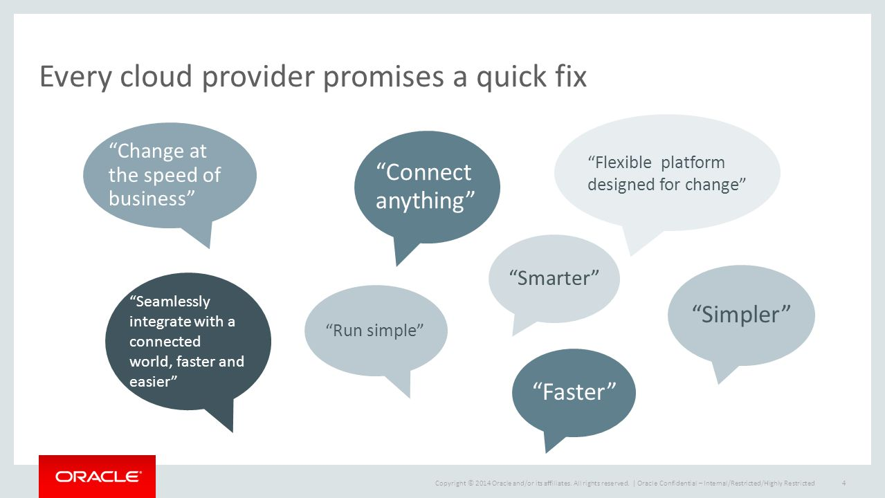 Every cloud provider promises a quick fix