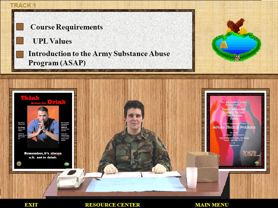 Introduction to the Army Substance Abuse Program (ASAP)