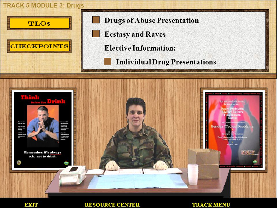 Drugs of Abuse Presentation Ecstasy and Raves Elective Information: