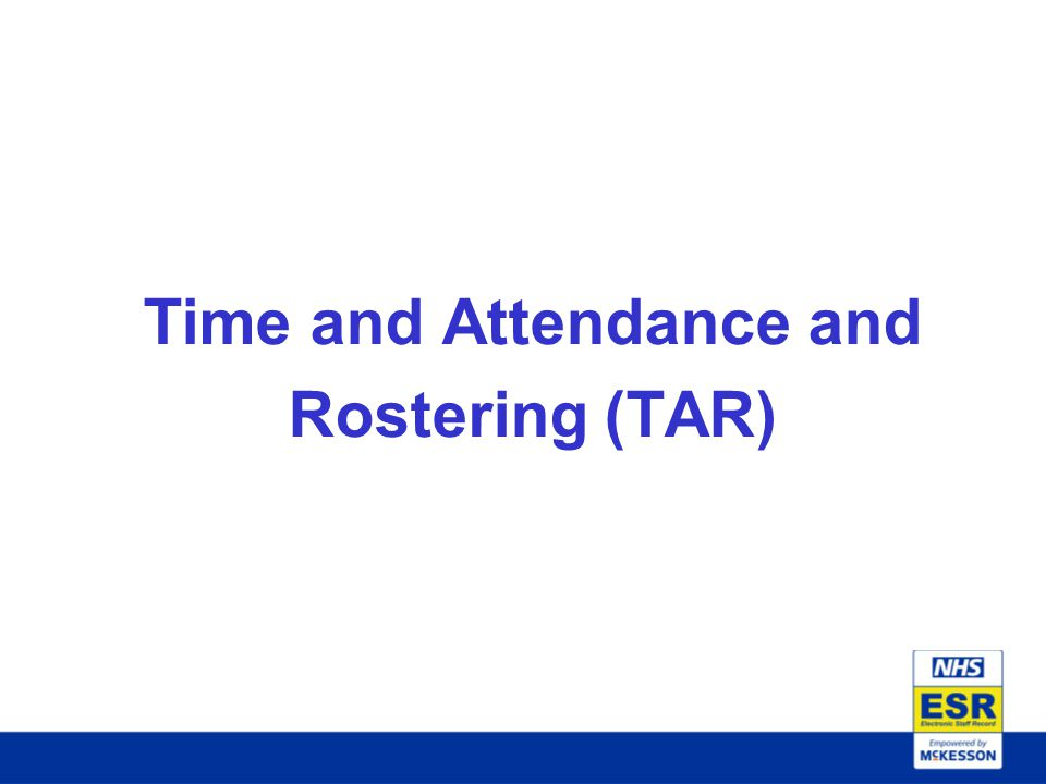 Time and Attendance and