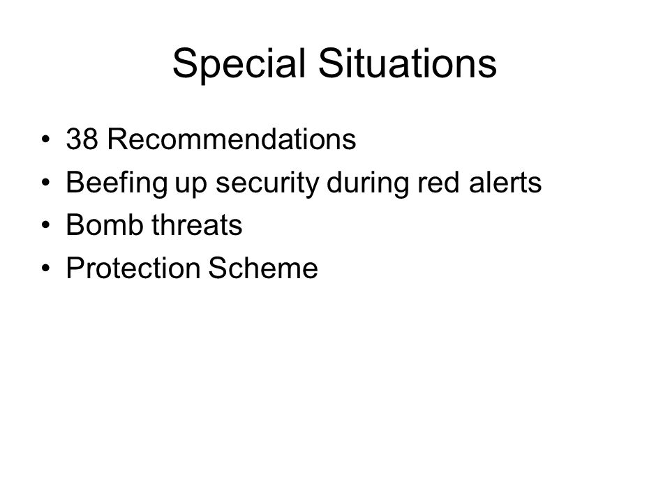 Special Situations 38 Recommendations