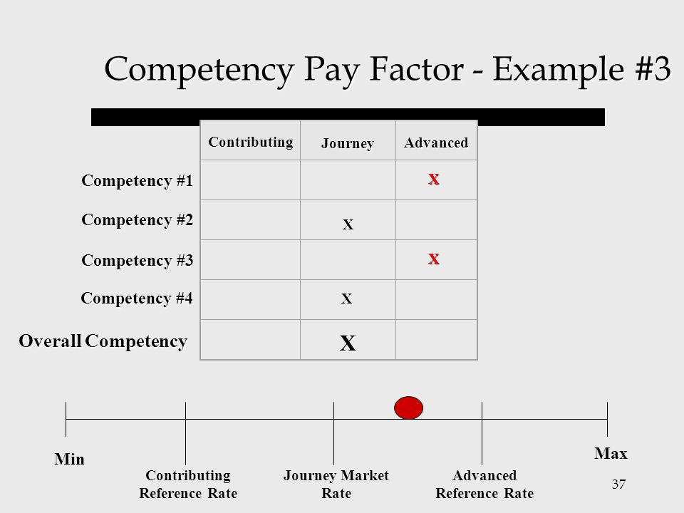Competency Pay Factor - Example #3