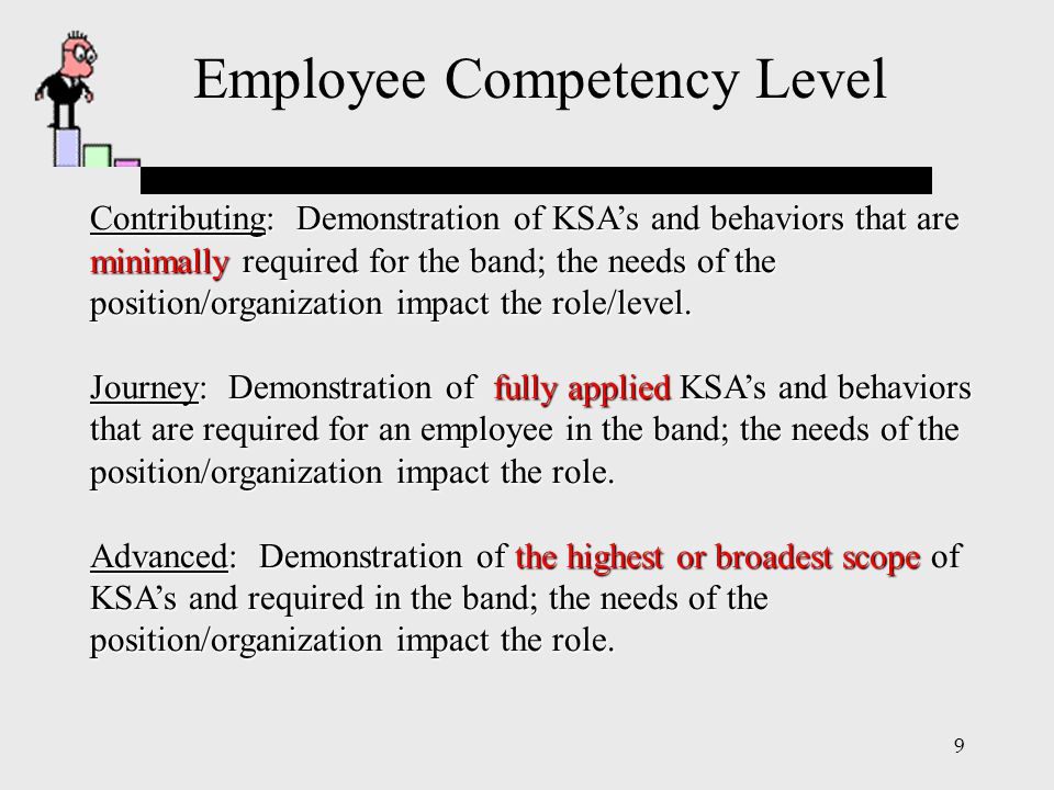 Employee Competency Level