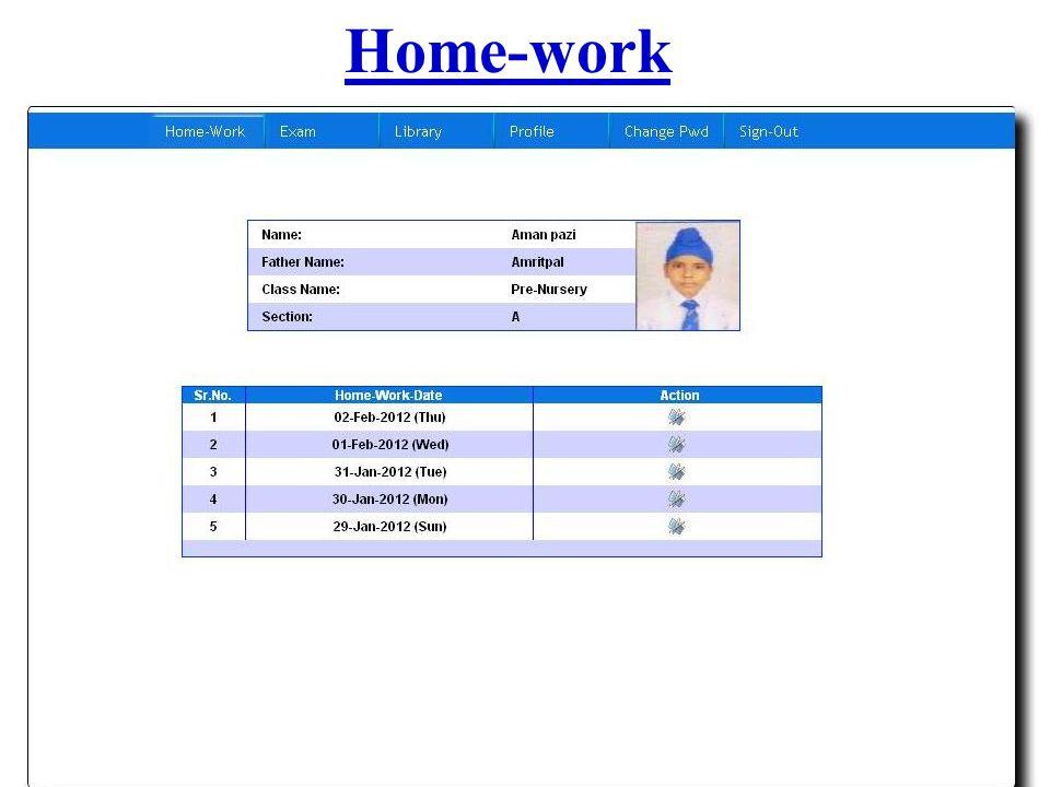 Home-work