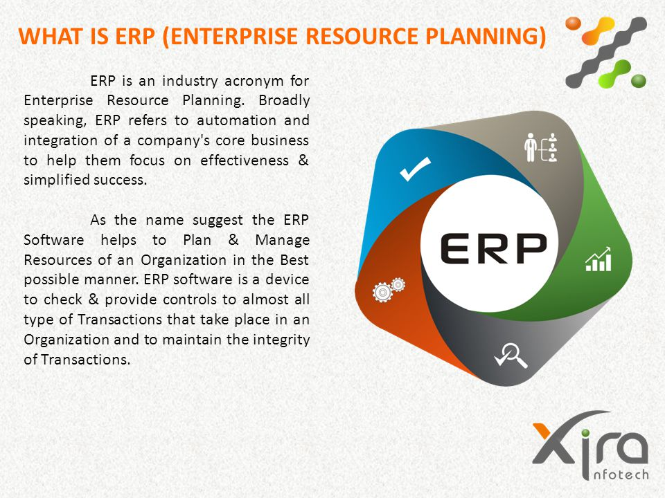 WHAT IS ERP (ENTERPRISE RESOURCE PLANNING)