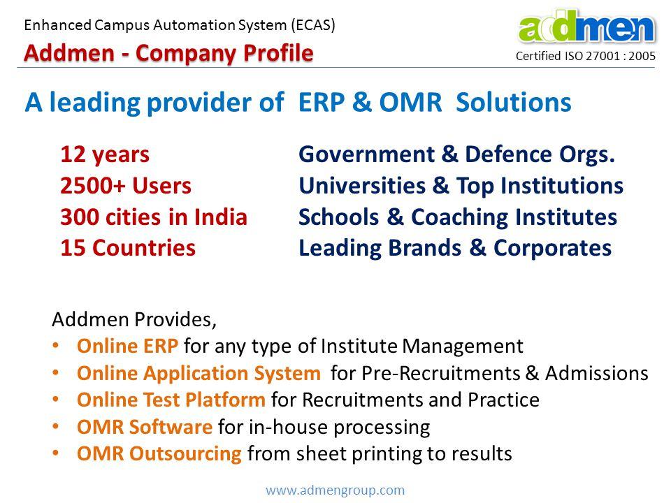 Addmen - Company Profile